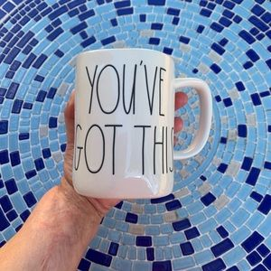 """Rae Dunn """"YOU'VE GOT THIS"""" Large Letters Gift Mug"""